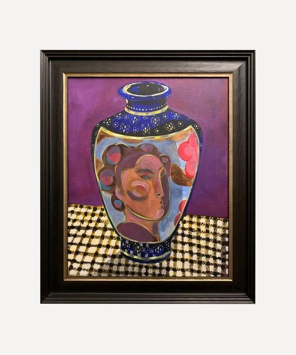 Naomi Munuo - Satsuma Vase 2 Original Framed Artwork