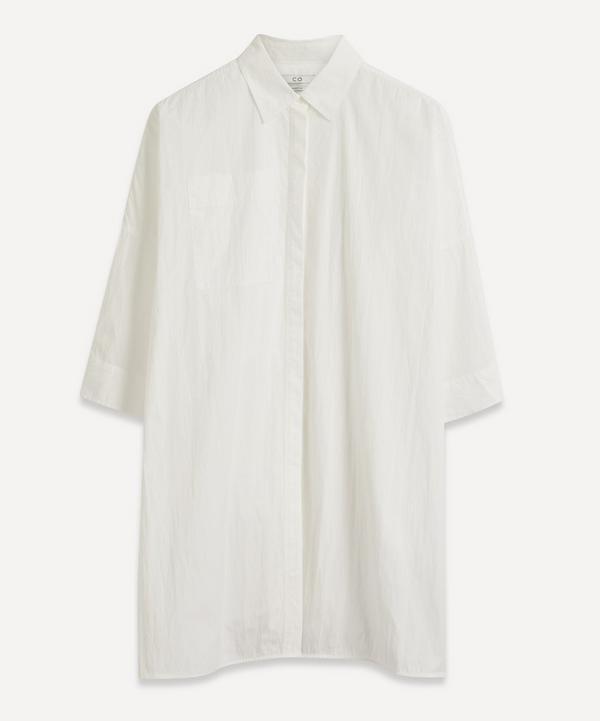 CO - Button Down Shirt Tunic