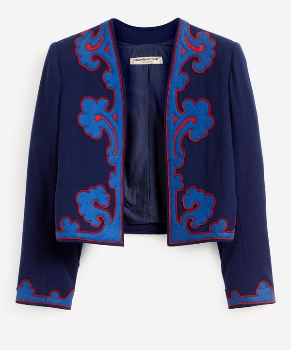 Designer Vintage - Saint Laurent Rive Gauche '80s Wool Jacket