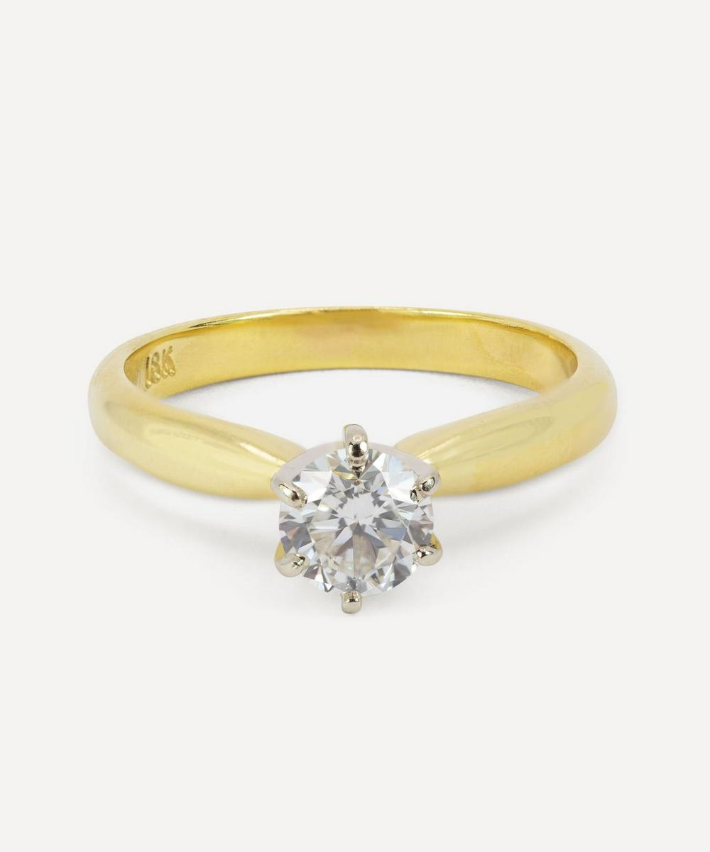 Kojis - Gold Diamond Solitaire Ring