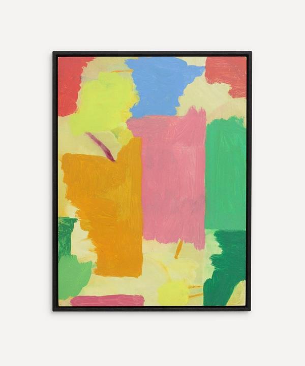Andrew Graves - Step 2021 - Original Framed Oil Painting