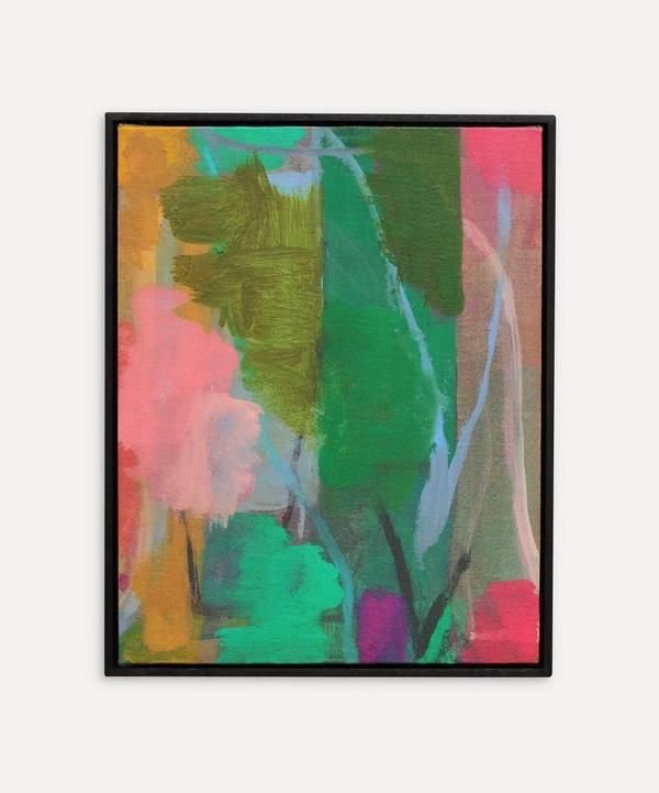 Andrew Graves - Heart 2021 - Original Framed Oil Painting
