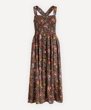 Smocked Button Through Dress