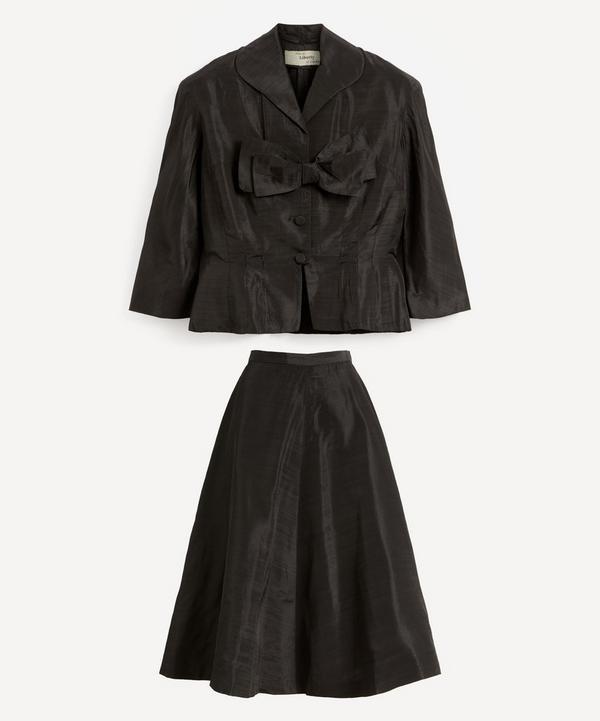 Designer Vintage - 50's Liberty of London Shantung Jacket and Skirt