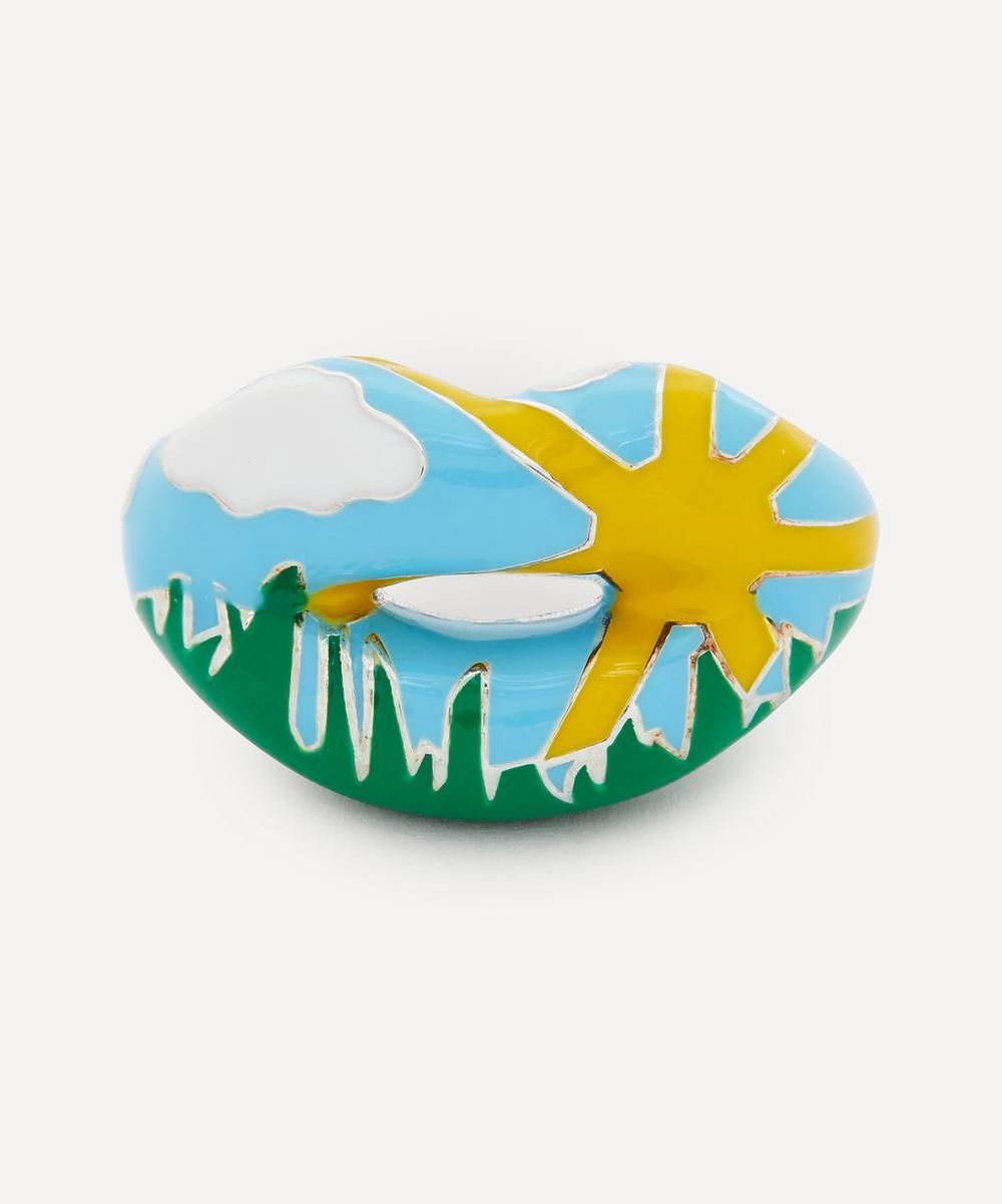 Solange Azagury-Partridge - Summer Hotlips Ring