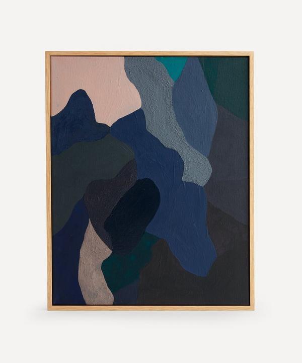 Borneo Studio - Touch Original Framed Painting