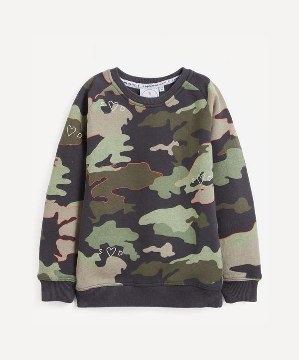 Scamp and Dude - Camo Print Sweatshirt 1-9 Years