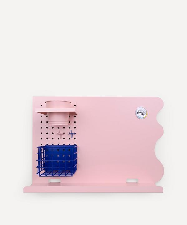 Peg & Board - Landscape Memo Board Set Blush Pink
