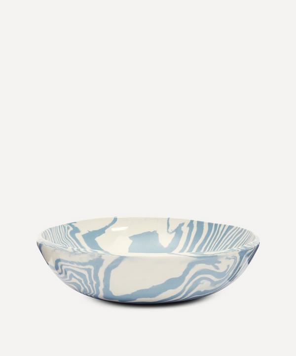 Henry Holland Studio - Blue and White Large Salad Bowl