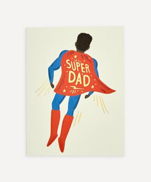 Soaring Super Dad Father's Day Card