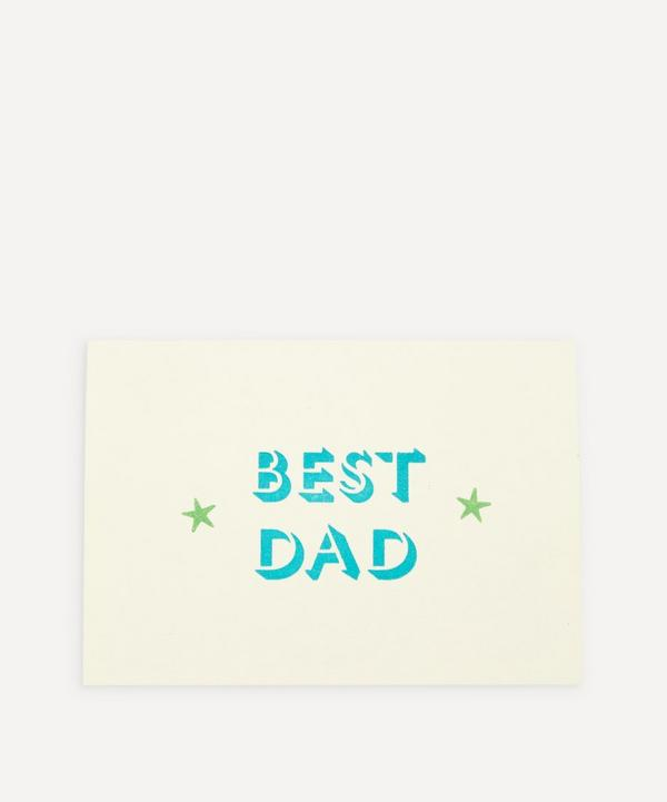 Marby & Elm - Best Dad Father's Day Card