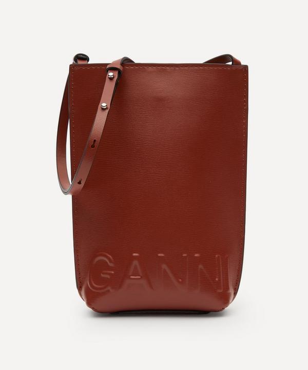 Ganni - Recycled Leather Mini Cross-Body Bag
