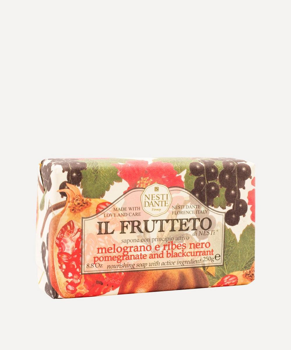 Nesti Dante - Il Frutetto Pomegranate and Blackcurrant Soap 250g