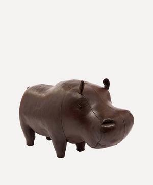 Medium Leather Hippopotamus