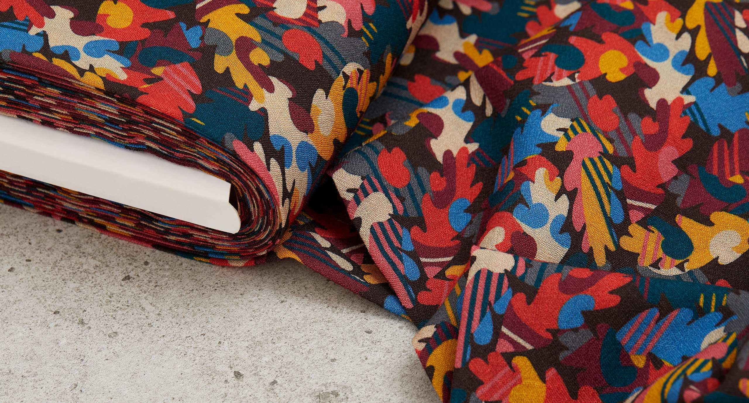 Liberty Fabrics Wool Crepe