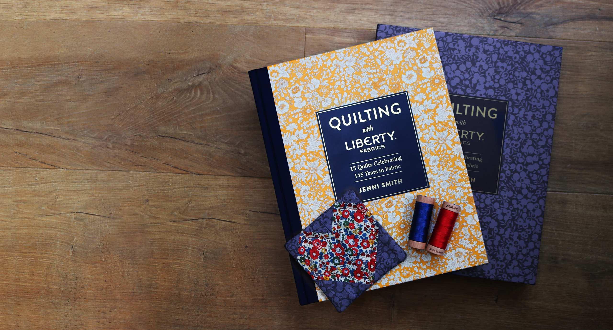 Jenni Smith Quilting with Liberty Fabrics