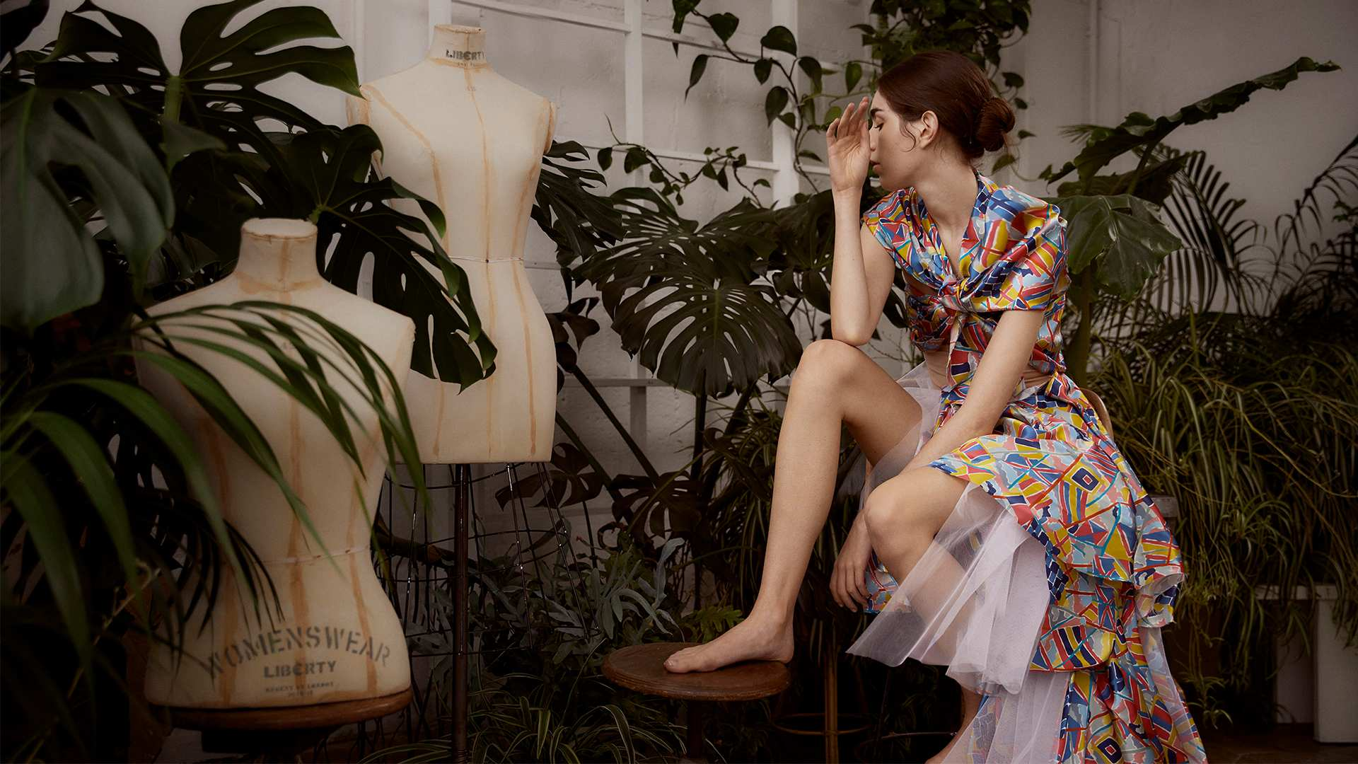 Liberty Fabrics: New In Silks