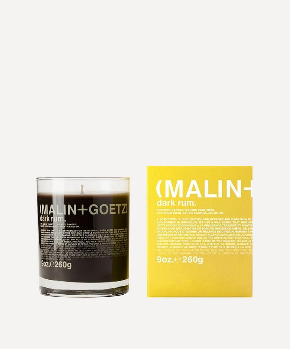 (MALIN+GOETZ) - Dark Rum Scented Candle 260g