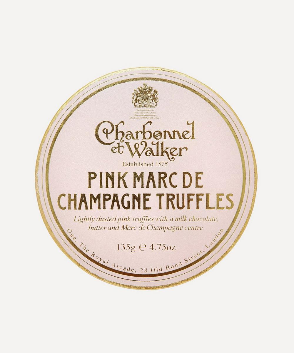 Charbonnel et Walker - Pink Marc de Champagne Truffles 135g