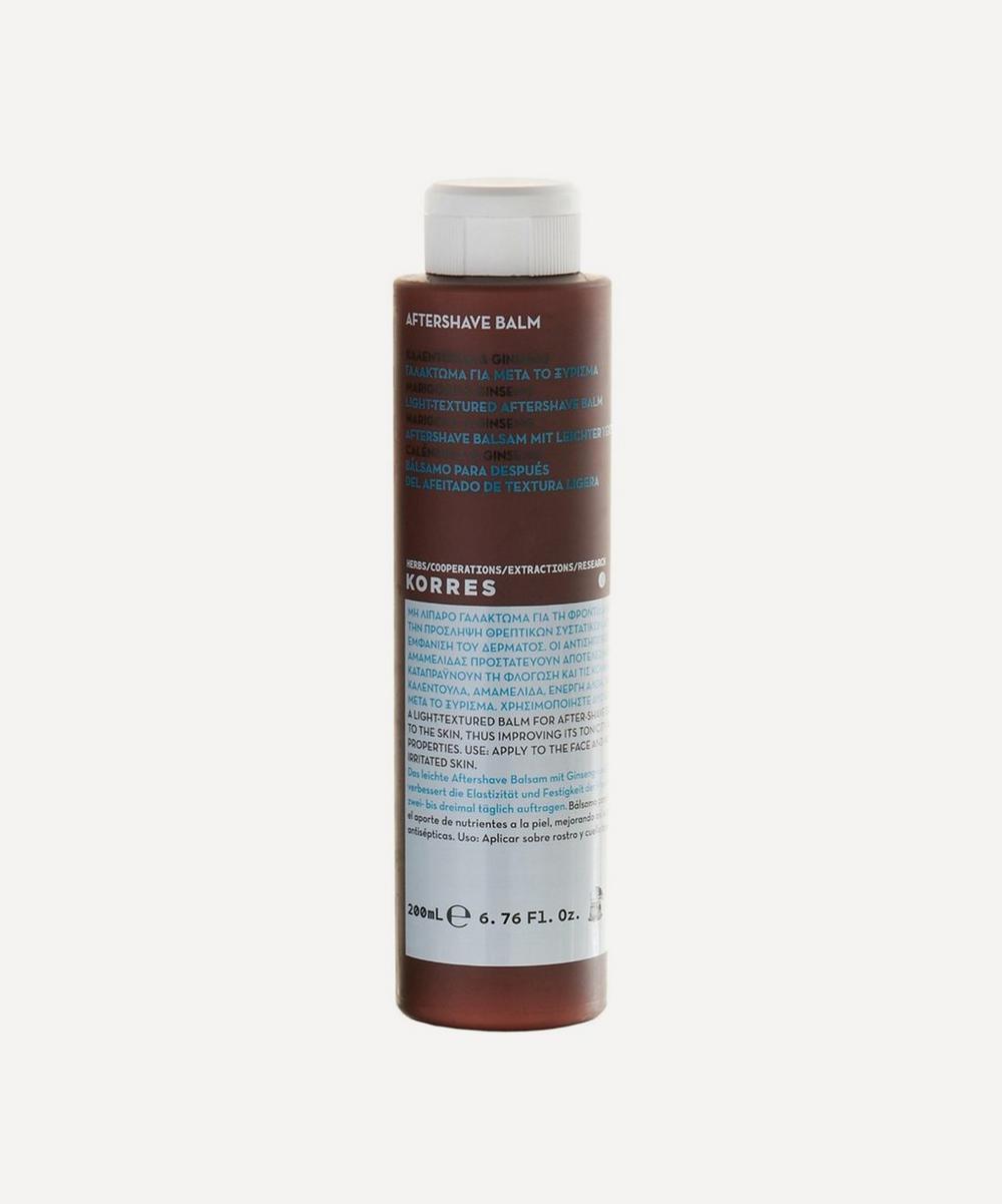Korres - Marigold and Ginseng Men's Aftershave Balm 150ml