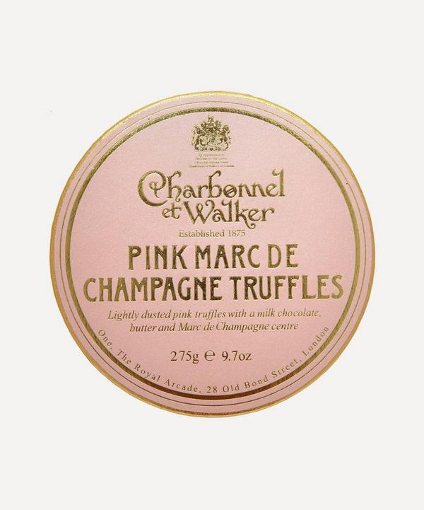 Charbonnel et Walker - Pink Marc de Champagne Truffles 275g