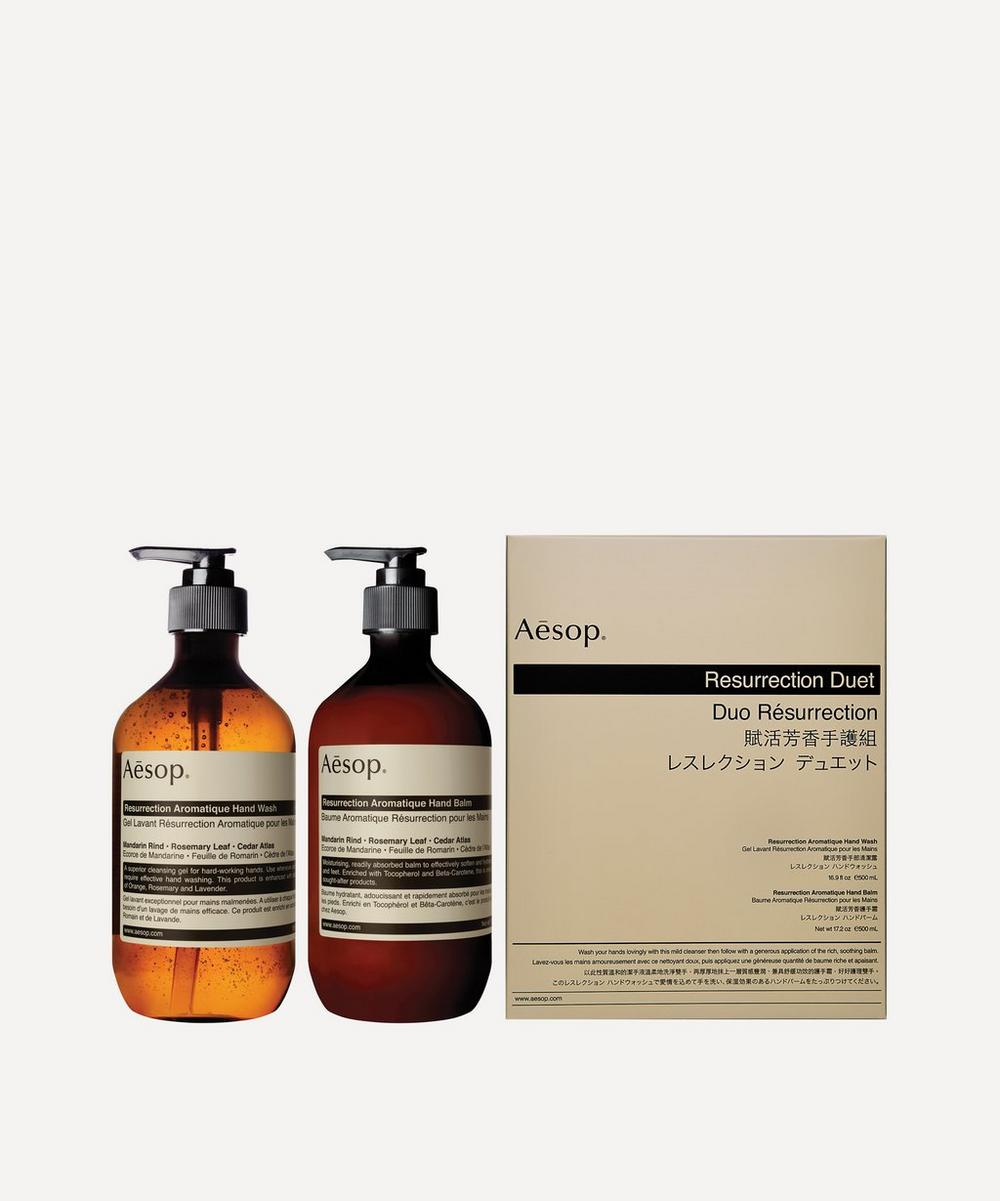 Aesop - Resurrection Duet 2 x 500ml