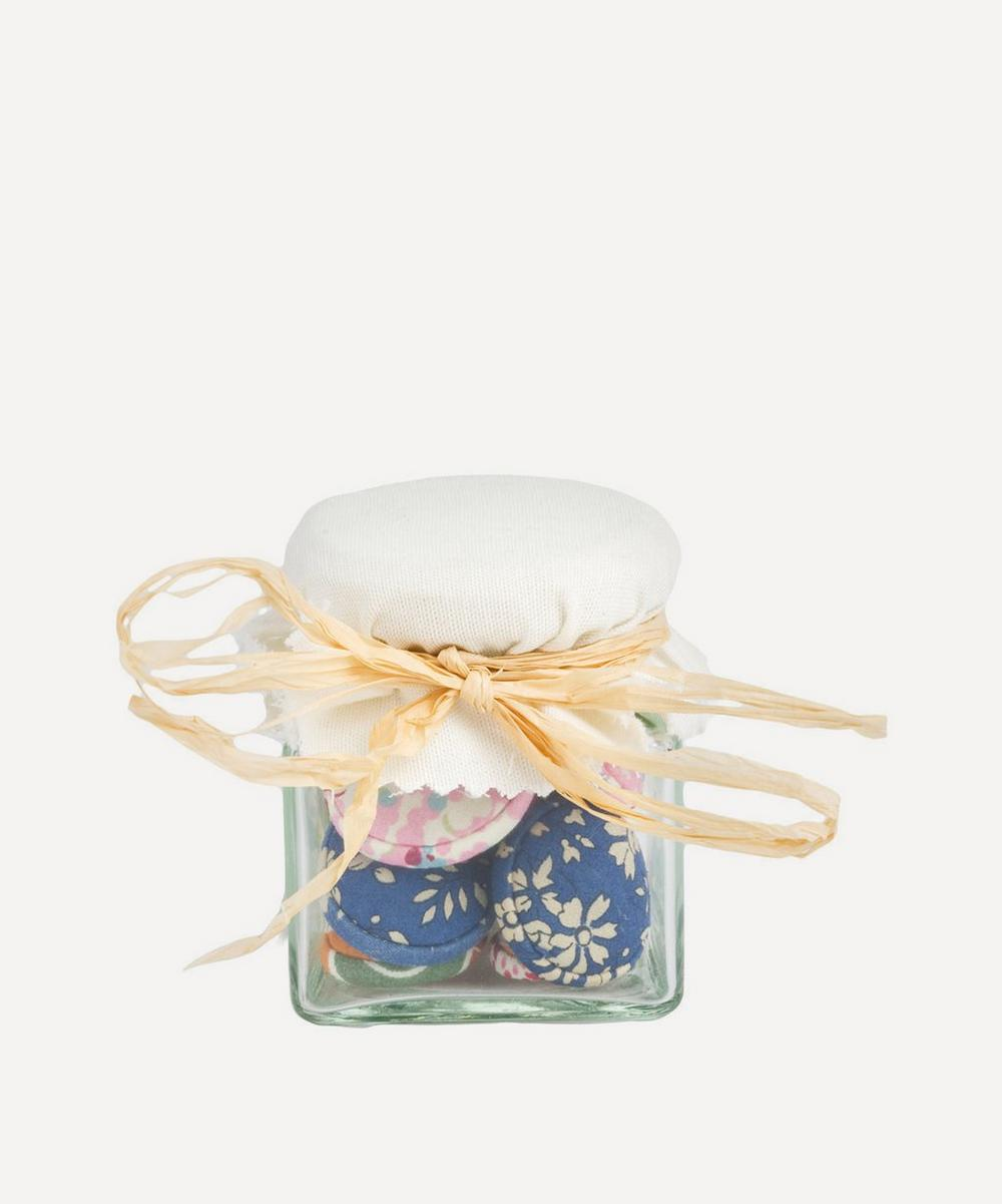 House of Alistair - Jar of Liberty Print Double-Covered Buttons