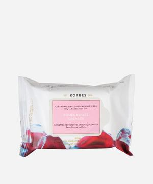 Pomegranate Cleansing Wipes