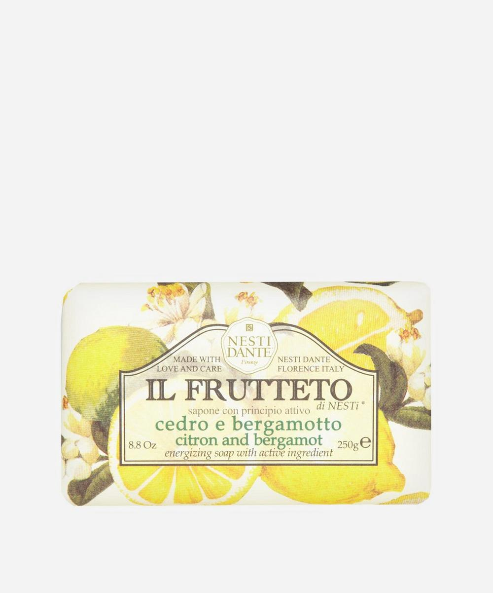 Nesti Dante - Il Frutteto Citron and Bergamot Soap 250g