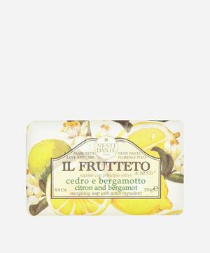Il Frutteto Citron and Bergamot Soap 250g