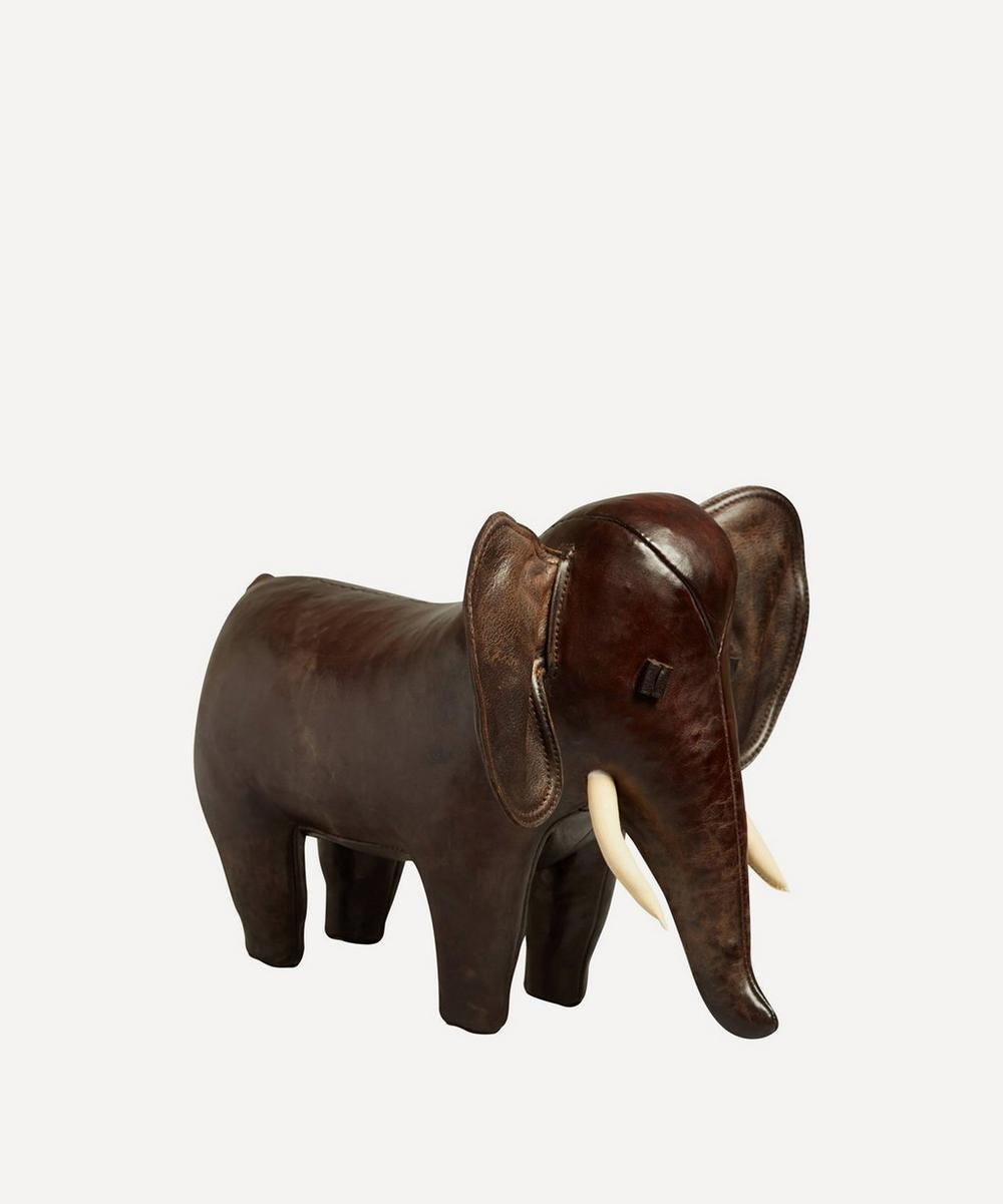 Omersa - Small Leather Elephant