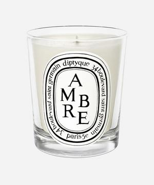 Amber Scented Candle 190g