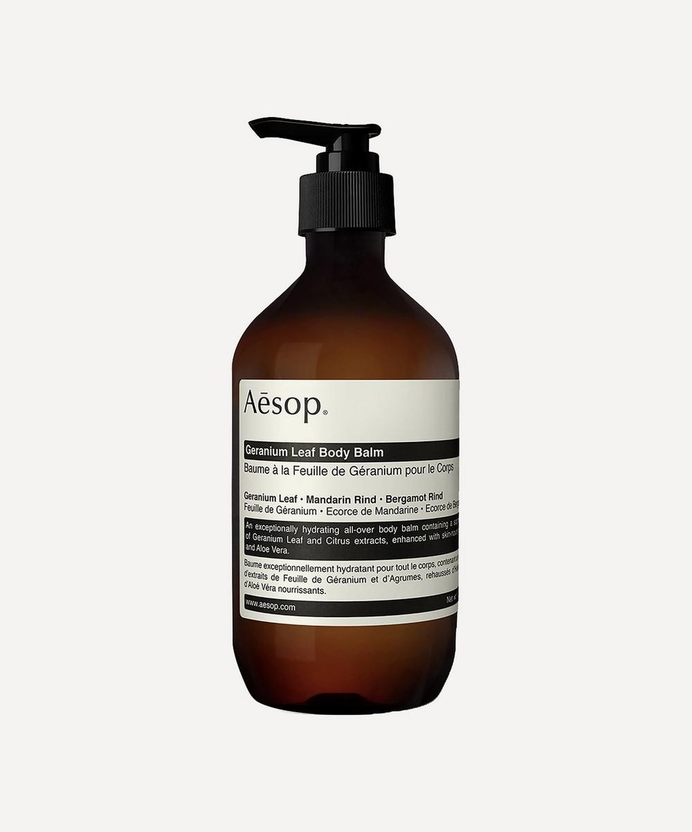 Aesop - Geranium Leaf Body Balm 500ml