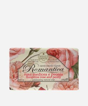 Romantica Florentine Rose and Peony Soap 250g