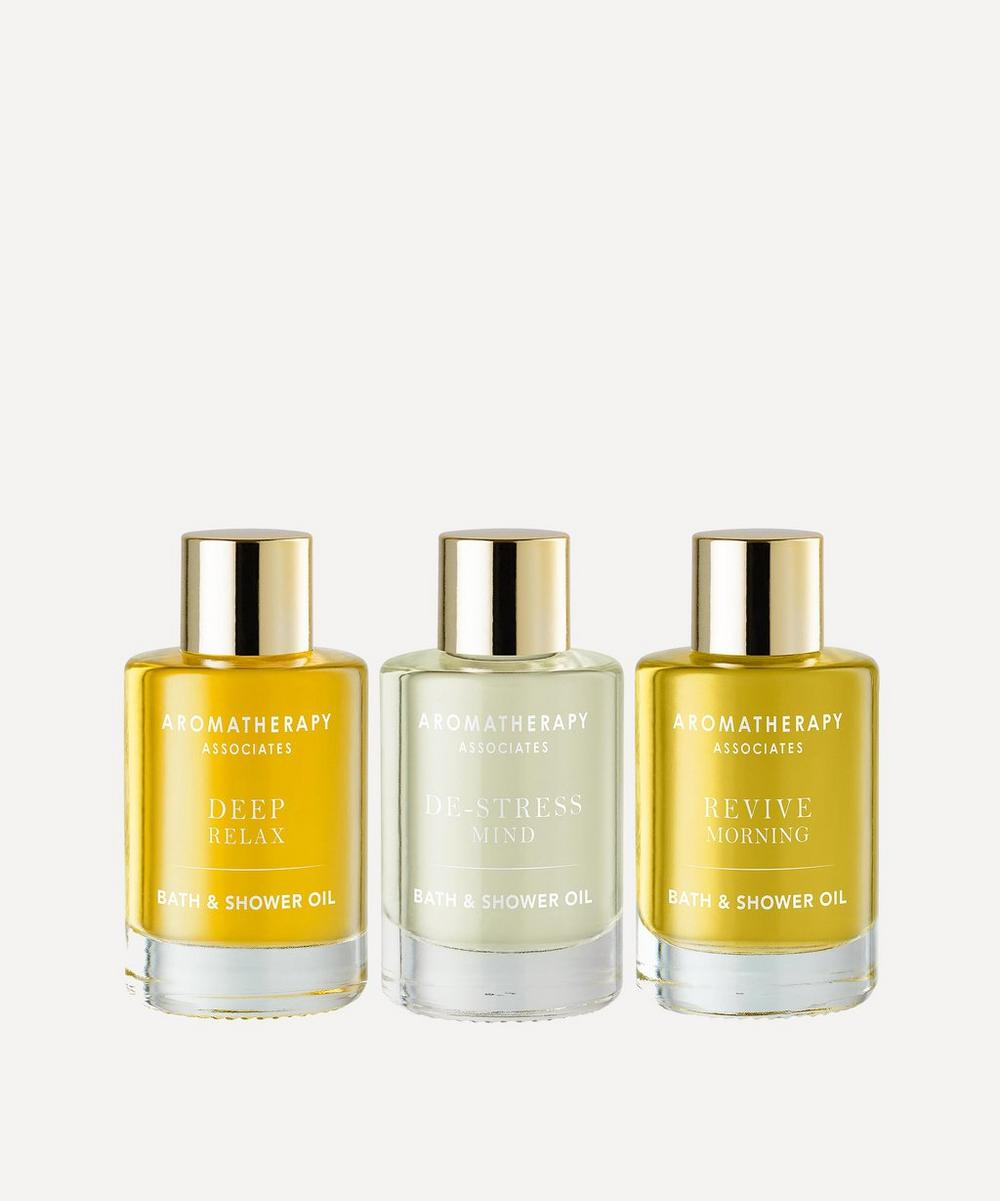 Aromatherapy Associates - Essential Bath and Shower Oils Set of Three