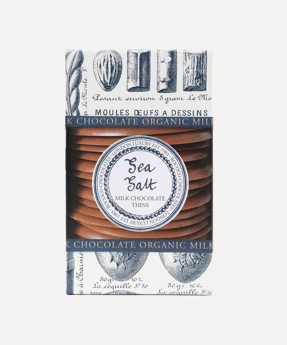 Rococo - Organic Sea Salt Milk Chocolate Wafers 150g
