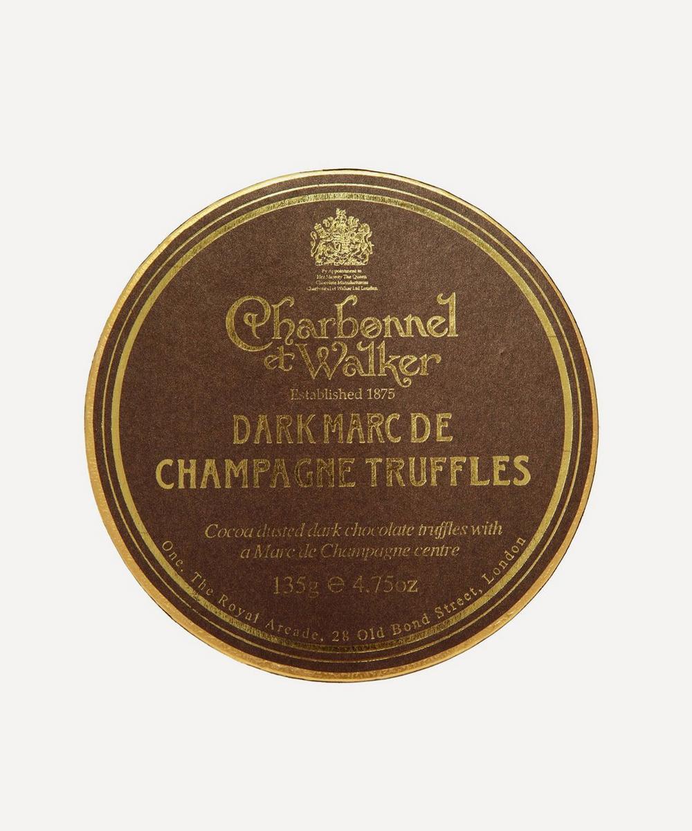Charbonnel et Walker - Dark Marc De Champagne Truffles 135g