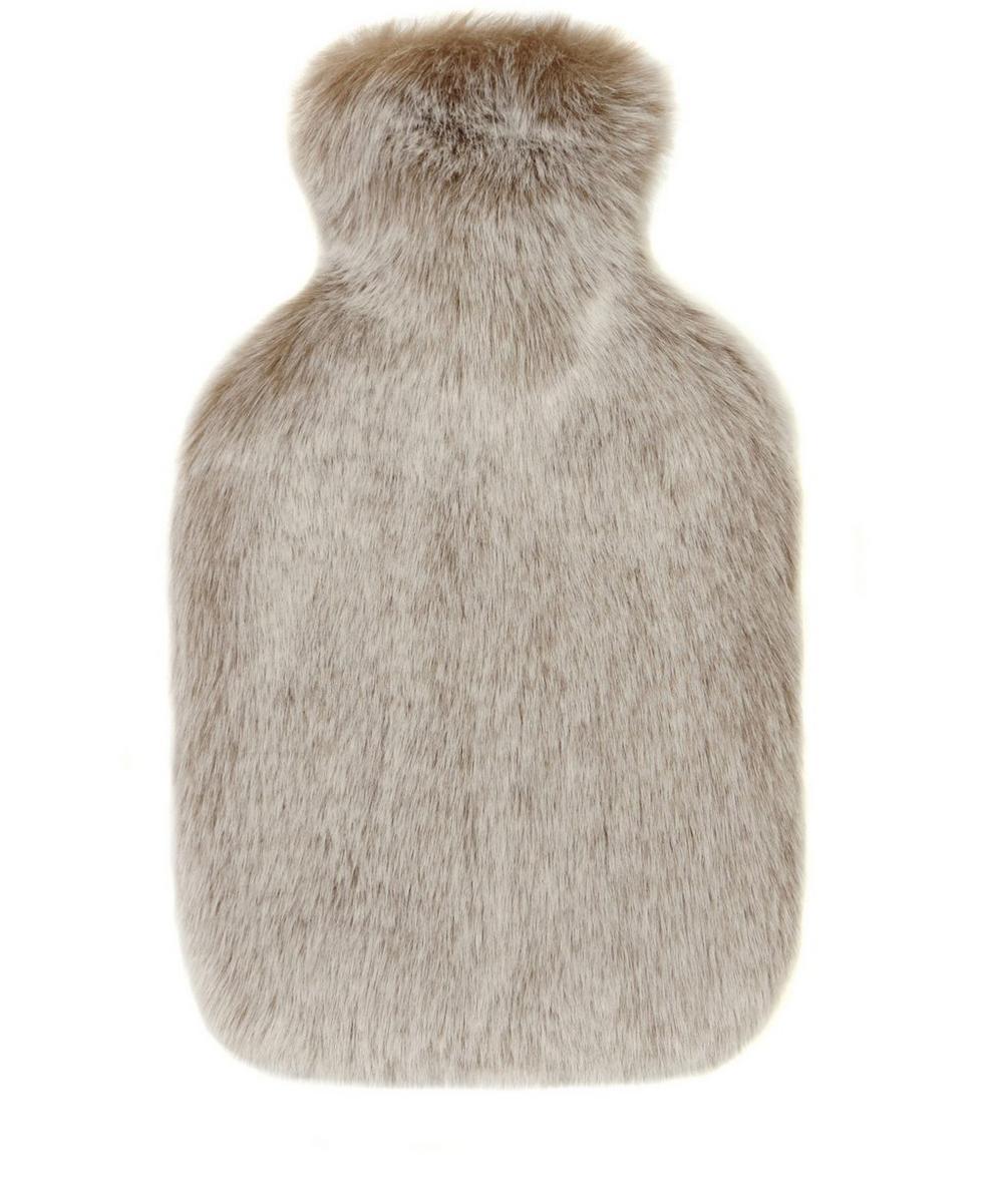 Helen Moore - Latte Faux Fur Hot Water Bottle