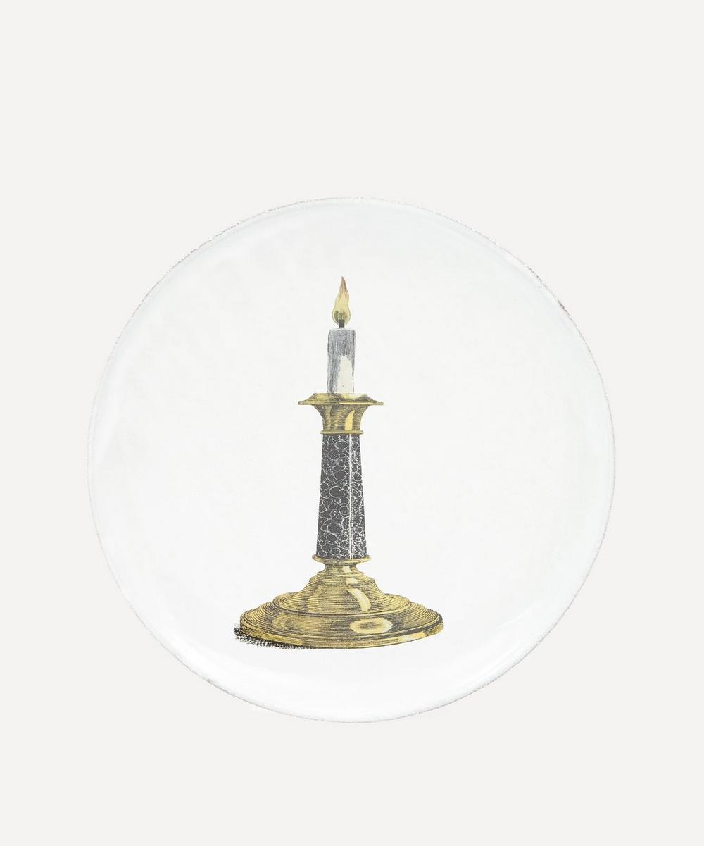 Astier de Villatte - Candlestick Dinner Plate