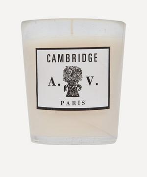 Cambridge Glass Scented Candle 260g
