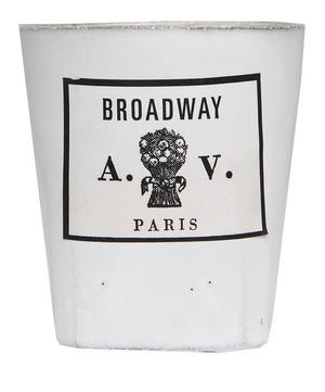 Broadway Ceramic Scented Candle 220g