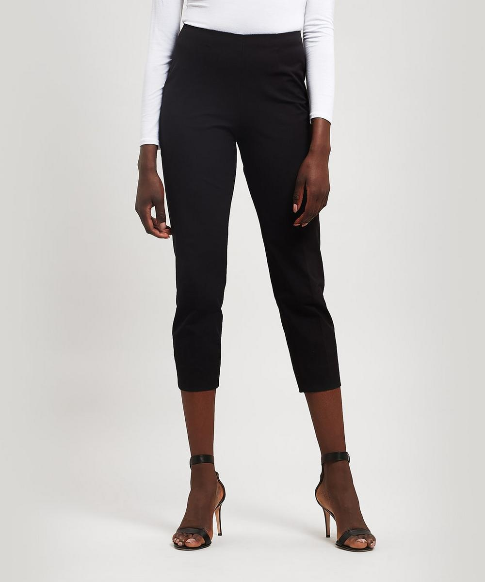 Piazza Sempione - Audrey Stretch Cotton Cropped Trousers