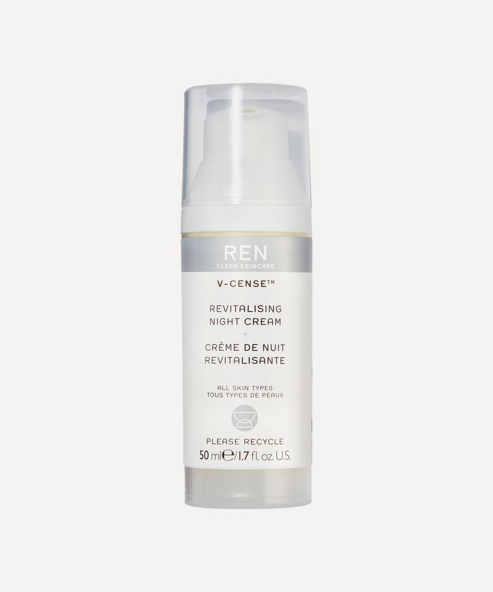 REN Clean Skincare - V-Cense™ Revitalising Night Cream 50ml