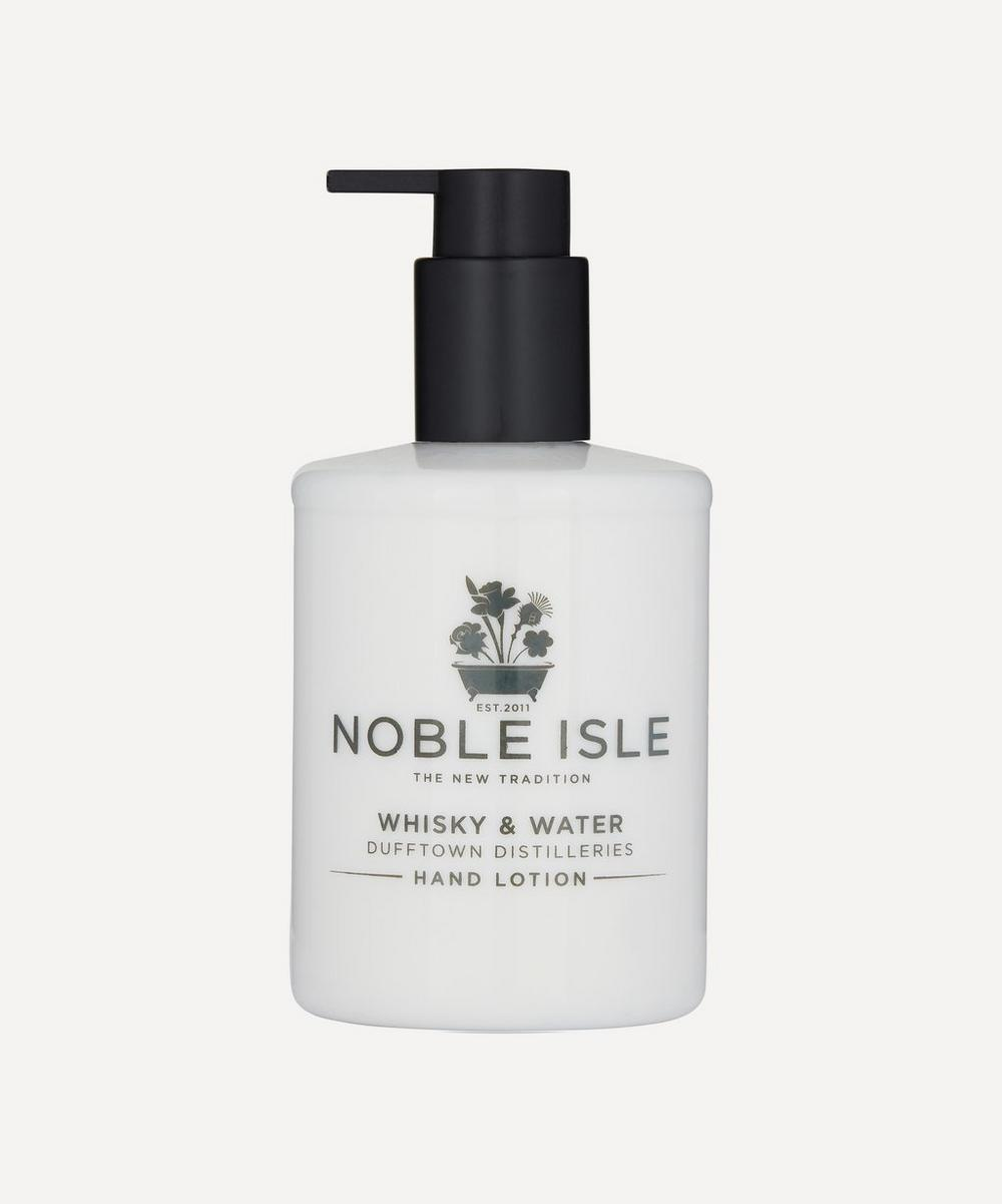 Noble Isle - Whisky and Water Dufftown Distilleries Hand Lotion 250ml image number 0