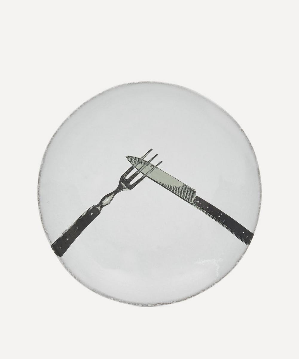Astier de Villatte - Knife and Fork Saucer