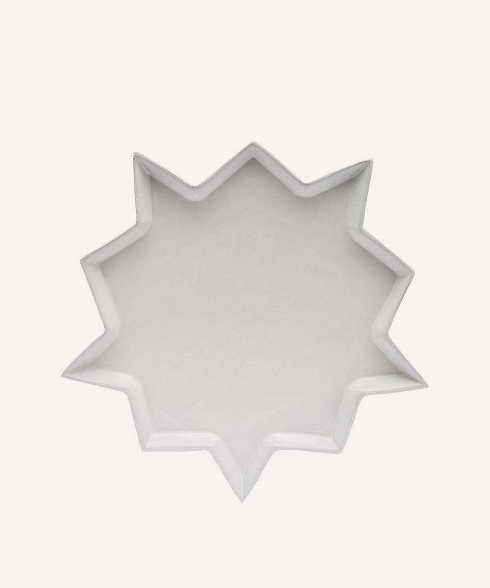 Astier de Villatte - Etoile Dinner Plate