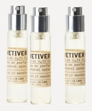 Vetiver 46 Eau de Parfum Travel Tube Refills 3 x 10ml
