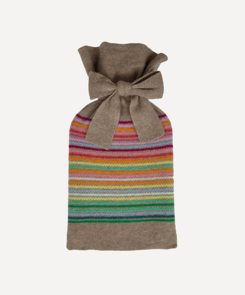 Row Pinto - Rainbow Stripe Hot Water Bottle