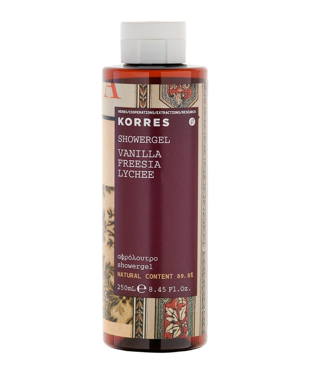 Korres - Vanilla, Freesia, Lychee Shower Gel 250ml