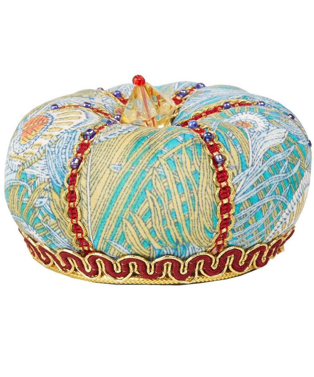 Liberty Print - Fairford Print Crown Pin Cushion